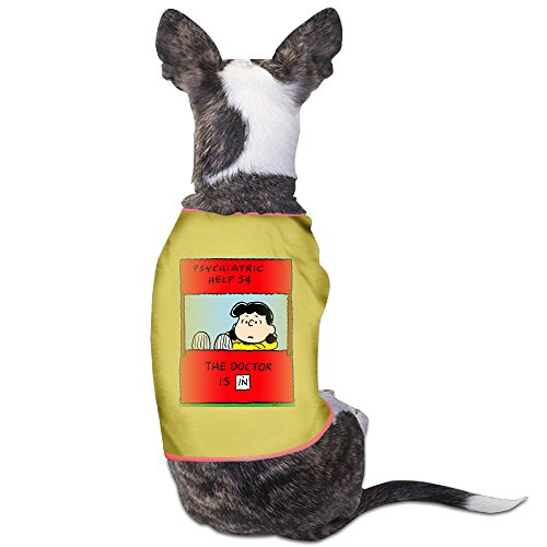 [Cool Lucy Van Pelt Quotes Pet Dog T Shirt.] (Charlie Brown Schroeder Costume)