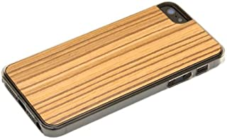 product image for CARVED Clear Wood Case for iPhone 5 - Zebrawood (I5-CC1Q)