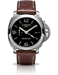 Men's PAM00320 Luminor 1950 3-Days Automatic GMT Black Dial Watch