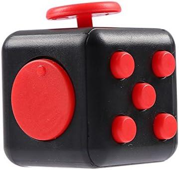 KANGLE Juguete Cubo m/ágico con Haga Clic en la Bola,Anti-ansiedad Anti-Stress Fidget Toys para ni/ños,Adolescentes y Adultos Stress Reliever
