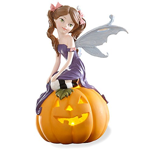 Halloween Pixie Lighted Figurine -