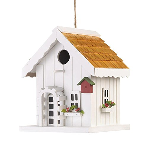 White-washed wood creates the cozy and charming Birdhouse of its own - Whitewashed Buildings