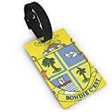 KODW12 Coat of Arms of Dominica Luggage Tag Travel Bag Labels Suitcase Bag Tag Name Address Cards