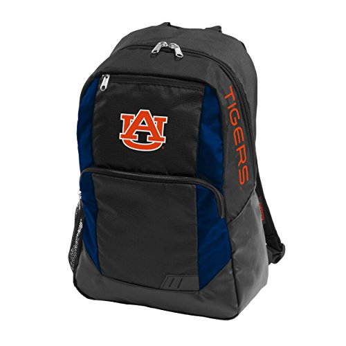 Logo Brands 110-86 NCAA Auburn Closer Backpack, Black