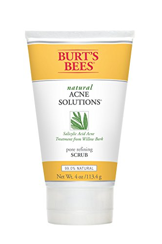 burts-bees-natural-acne-solutions-pore-refining-scrub-4-ounces