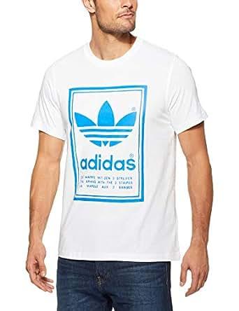 adidas Men's Vintage T-Shirt, White, S