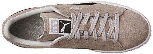 Violet Puma Noir Gris Puma Suède Adulte Chaussure Classique