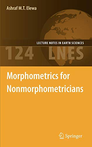 Morphometrics for Nonmorphometricians (Lecture Notes in Earth Sciences)