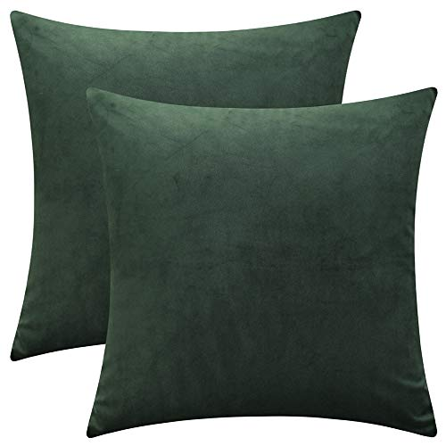 Green Velvet Cushion Set - 9