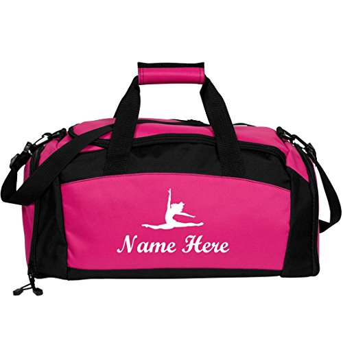 Custom Name Dance Bag: Port & Company Gym Duffel Bag by Customized Girl