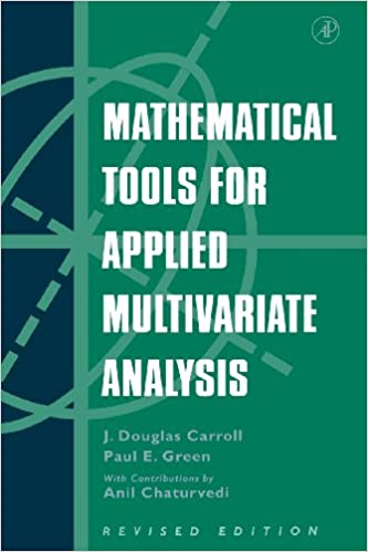 9066f7ef7d07 Amazon.com  Mathematical Tools for Applied Multivariate Analysis ...