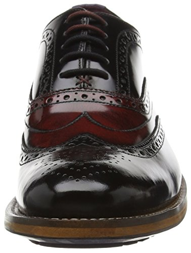 Ted Baker Krelly 2 - Zapatos Hombre BLACK / DARK RED
