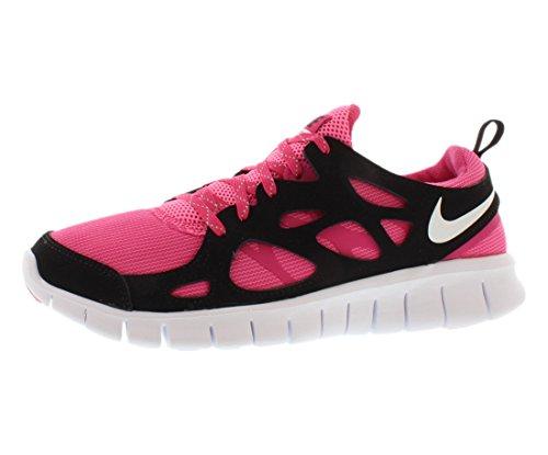 white white white black Le Free Laufschuhe Vivid Vivid Vivid Vivid gs Pink Run pink 600 Nike 2 644404 Glow w8aCqCP