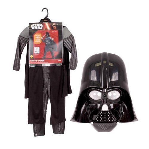 Disney Darth Vader Costumes (Disney Darth Vader Small Halloween Costume, Black, Ages 3-4 (Us Kids' Size 4-6))