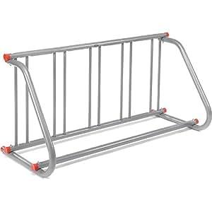 Amazon Com 61 5 8 Quot L Grid Bike Rack Single Sided Powder