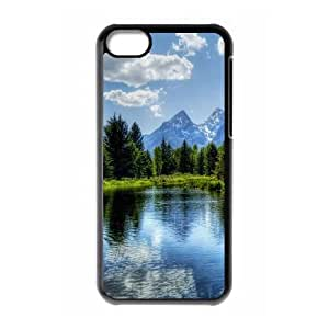 Forest Lake iPhone 5c Cell Phone Case Black Protect your phone BVS_742591