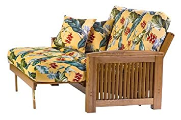 amazon    august lotz independence collection magnolia futon  kitchen  u0026 dining amazon    august lotz independence collection magnolia futon      rh   amazon
