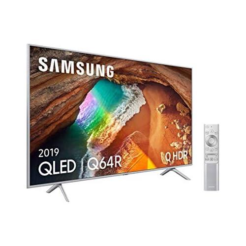 chollos oferta descuentos barato Samsung QLED 4K 2019 65Q64R Smart TV de 65 con Resolución 4K UHD Supreme Ultra Dimming Q HDR Inteligencia Artificial 4K Diseño Metalico Premium One Remote Apple TV y compatible con Alexa