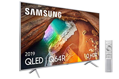 🥇 Samsung QLED 4K 2019 65Q64R – Smart TV de 65″ con Resolución 4K UHD