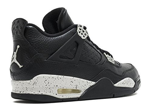 Jordan Mens Retro 4 LS Black/Black/Tech Grey 314254-003 clearance get to buy 2mrhG