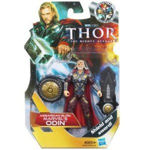 Thor: The Mighty Avenger Action Figure # 13 Asgardian Glow Marvel's Odin 3.75 Inch ()