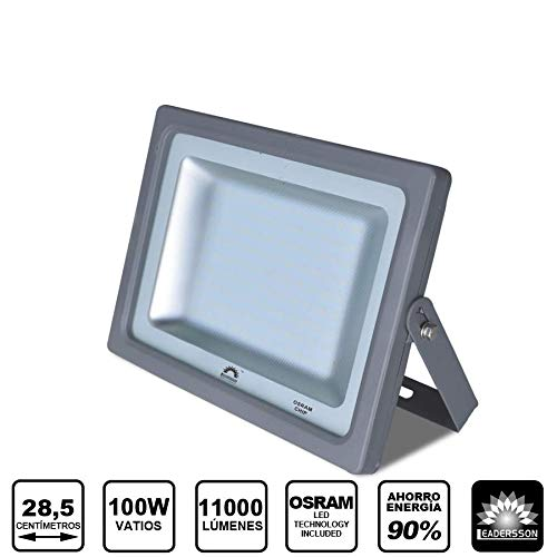 Foco Proyector LED 100w 11000lm MERCURY ultrafino para ...