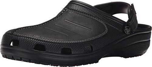 crocs Men's Yukon Mesa Clog , Black/Black, 9 M US