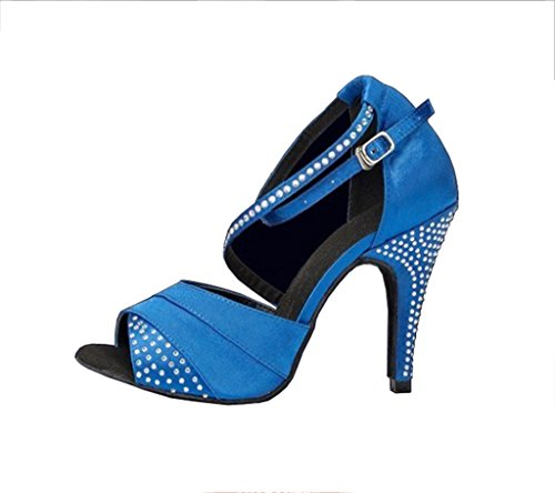 Meijili Meijili Ballroom Donna Ballroom Blue f0HnxZ