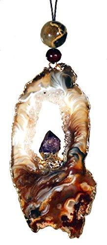 Geode / Heart Chakra Amulet by Dakini Designs (Image #2)