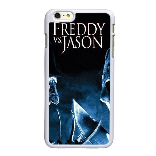 G5N18 Freddy contre Jason Haute Résolution Affiche Z4V5MR coque iPhone 6 4.7 pouces Cas de couverture de téléphone portable coque blanche HX1HTQ5UL
