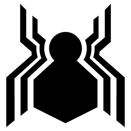 Marvel Spider Man Homecoming Logo, Pink, 6 Inch, Die Cut Vinyl Decal, For Windows, Cars, Trucks, Toolbox, Laptops, Macbook-virtually Any Hard Smooth Surface