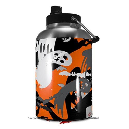 Skin Decal Wrap for 2017 RTIC One Gallon Jug Halloween Ghosts (Jug NOT INCLUDED) by WraptorSkinz for $<!--$16.99-->