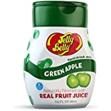 Jelly Belly Liquid Drink Mix - Green Apple, Naturally Flavored Water Enhancer, Sugar Free, Zero Calorie, Mix Your Own Jelly Bean Candy Flavored Waters, Makes 96 Drinks (Pack of 4 Bottles)