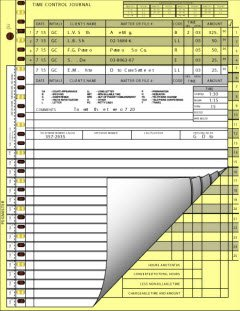 EGP Time Control System - Journal Sheet by EGPChecks (Image #3)