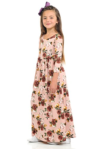 45e7b65ad with Easy Blush by Girls  Label Dress Pastel Monday Floral and Rose ...
