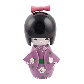 Amazon Com Edealmax Accueil Bureau Decor Japonais Kokeshi Kimono