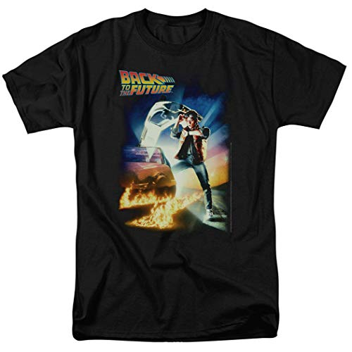 Popfunk Back to The Future Marty McFly T Shirt (XXX-Large) Black]()
