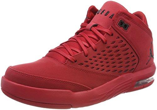 Nike Men Jordan Flight Origin 4 Basketball Shoes Red (Gym Red/Black 601)