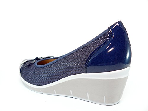 PITILLOS Women's Shoes Navy zNQZ59oeLV