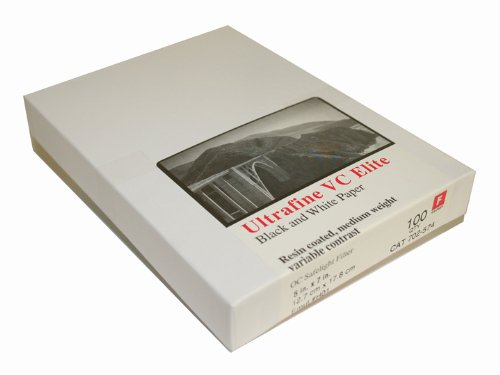 Ultrafine VC ELITE Glossy Variable Contrast RC Paper 5 x 7/ 100 by Ultrafine