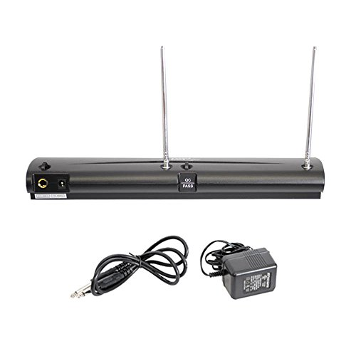 pyle pro dual channel vhf professional wireless microphone import it all. Black Bedroom Furniture Sets. Home Design Ideas