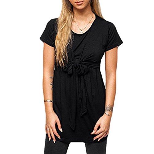 Moda T Benda maternit Corta Manica Anguang Shirt Donne 8d1wnFq