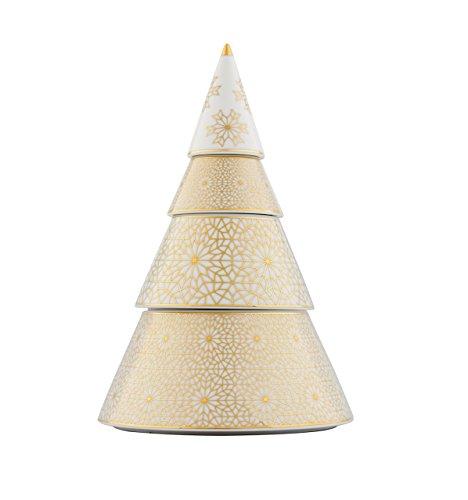 VISTA ALEGRE - Xmas Tree (Ref # 21121406) Porcelain Christmas Tree 3 Floors by Unknown