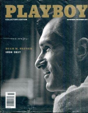 Playboy Magazine November December 2017 Hugh M. Hefner