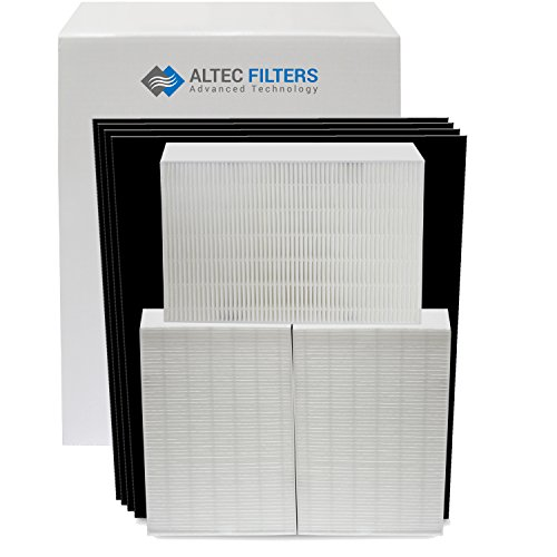 - Replacement Filters Bundle for Honeywell HPA300 Air Purifier 3 True HEPA Filters Plus 4 Activated Carbon Prefilters