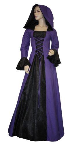 Gewand K27 Kleid 46 Cecile LARP Mittelalter Mittelalterkleid Gothic kreativwunderwelt Gr 5ISZ4q4