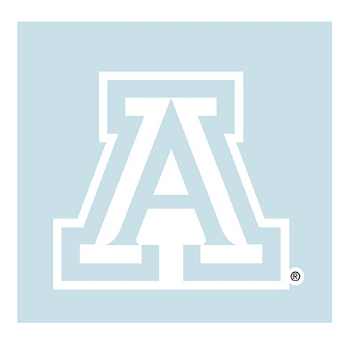 Craftique Arizona Wildcats Decal White A Decal 4