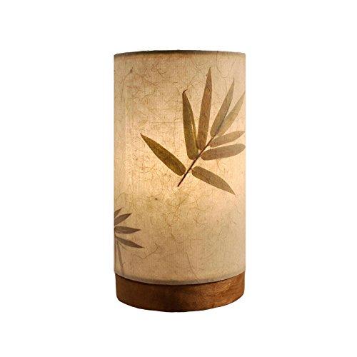 Eangee Handmade Paper Cylinder Mini Bamboo Lamp - Handmade Lamps Paper