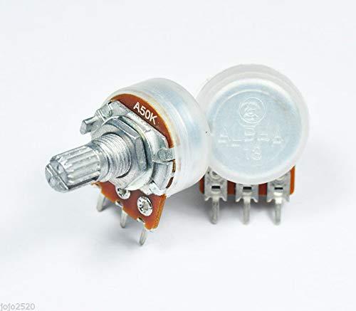 Pot PC Pins POTENTIOMETER K Logarithmic // Log NEW 1k OHM Audio Taper