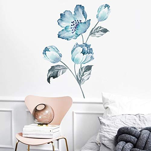 Clest F&H Pegatinas de Pared de orquídeas Hogar habitación de niños Decoración de Pared de jardín de infantes Decoración…